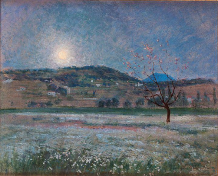 Iu Pascual Rodés~Moonlit Night in La - Classical art