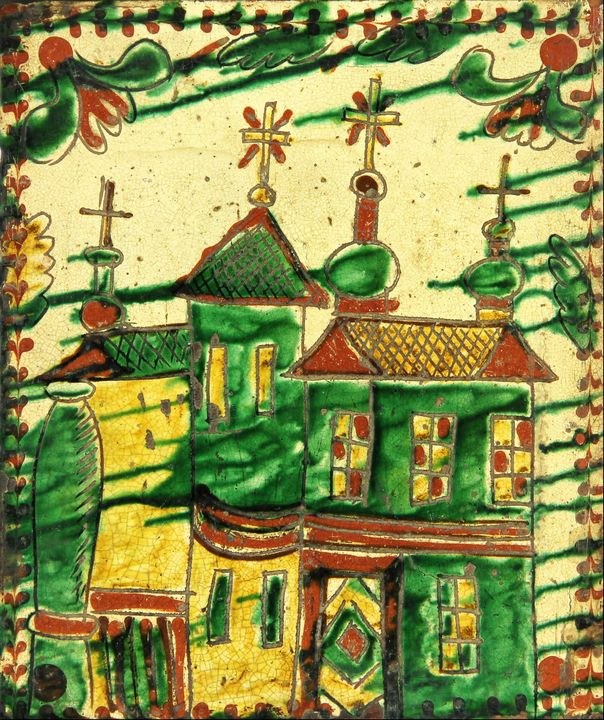 Ivan Baranyuk~A glazed tile - Classical art