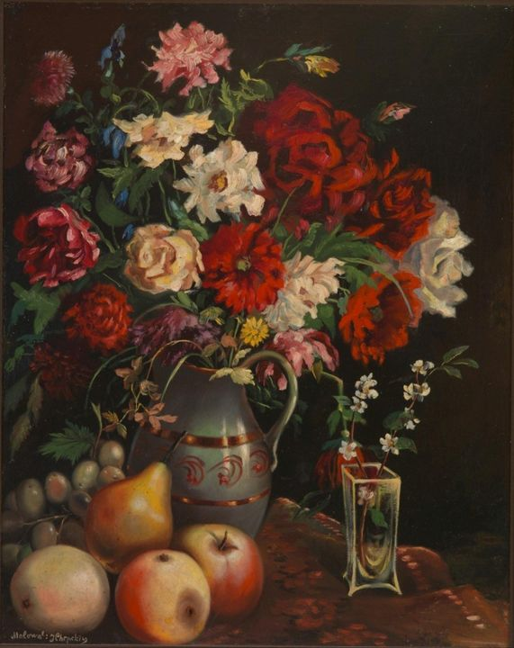Ivan Khrutsky~Still-life - Classical art