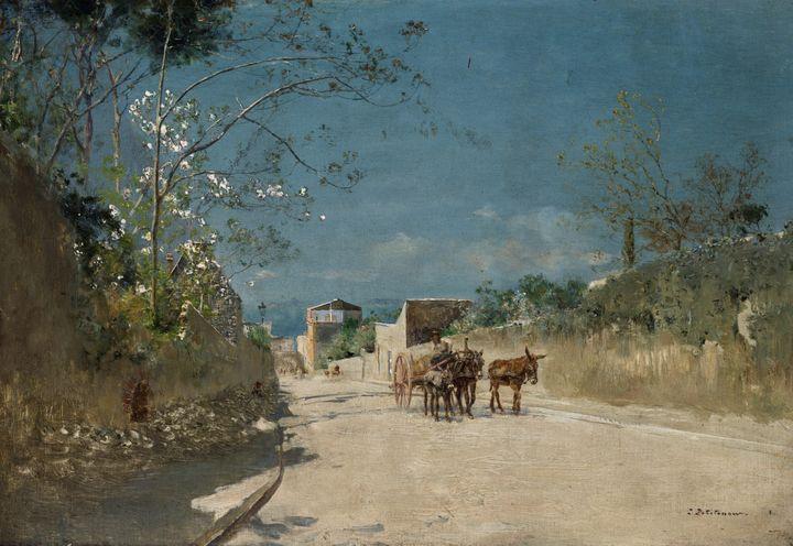 Ivan Pokhitonov~Route to Torre del G - Classical art