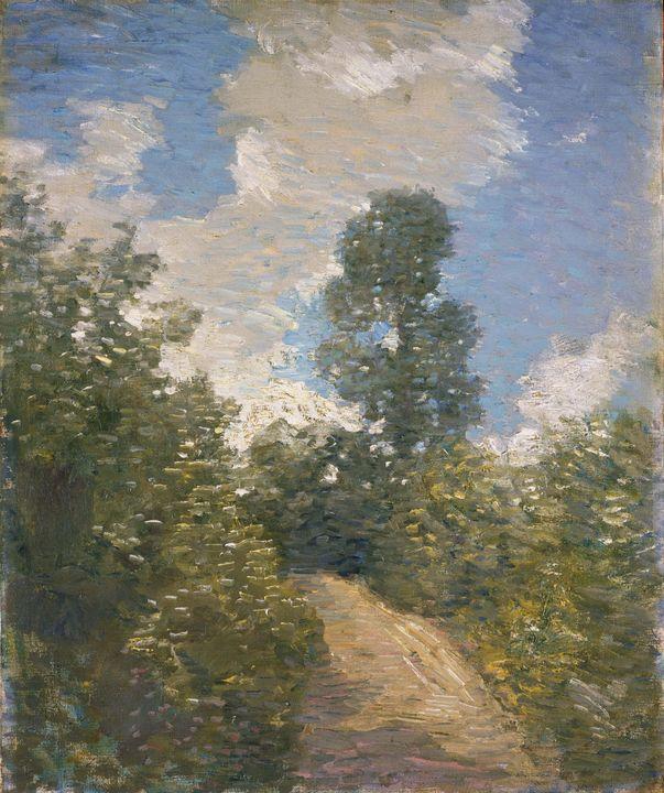 J. Alden Weir~Back Road - Classical art