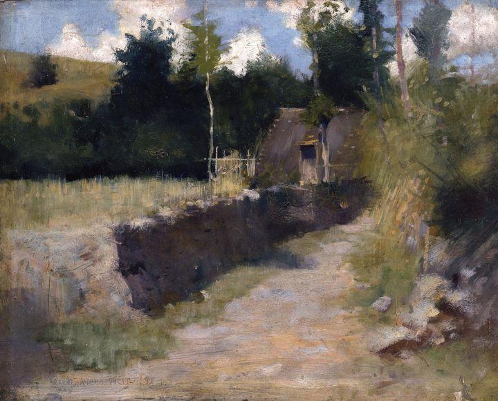 J. Alden Weir~June - Connecticut - Classical art