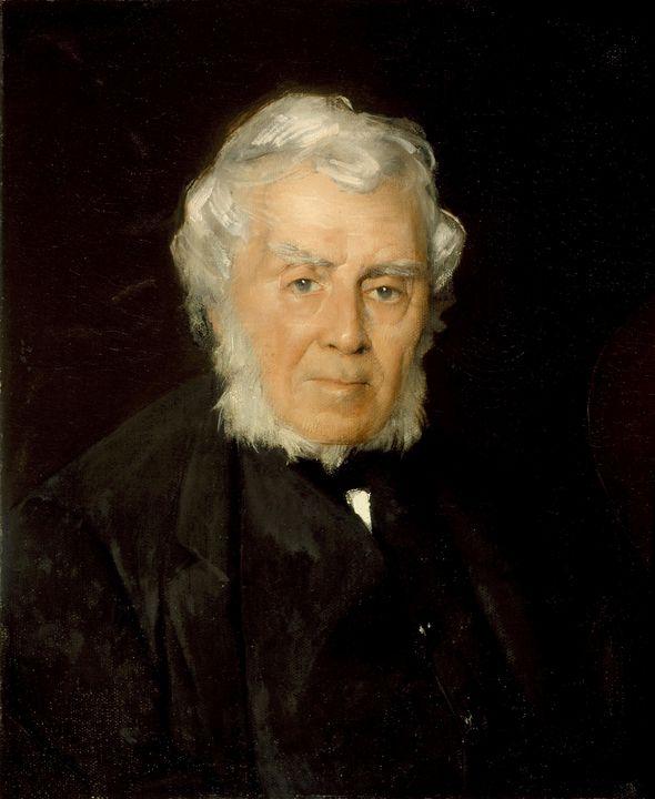 J. Alden Weir~Portrait of Robert Wal - Classical art