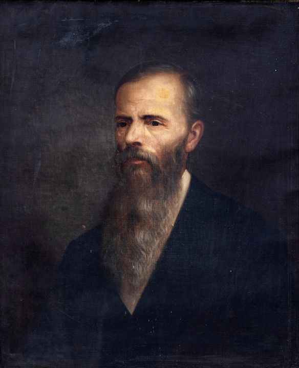 J. Augustus Beck~Portrait of Daniel - Classical art