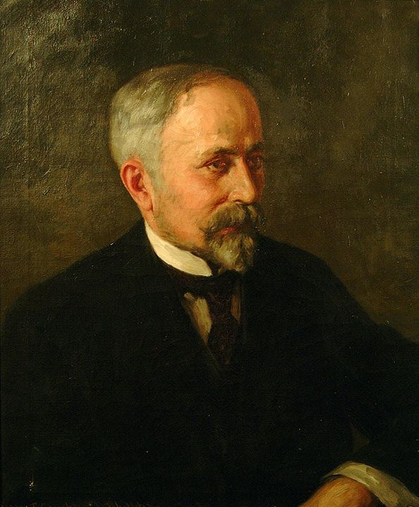 J. Campbell Phillips~Portrait of Scu - Classical art