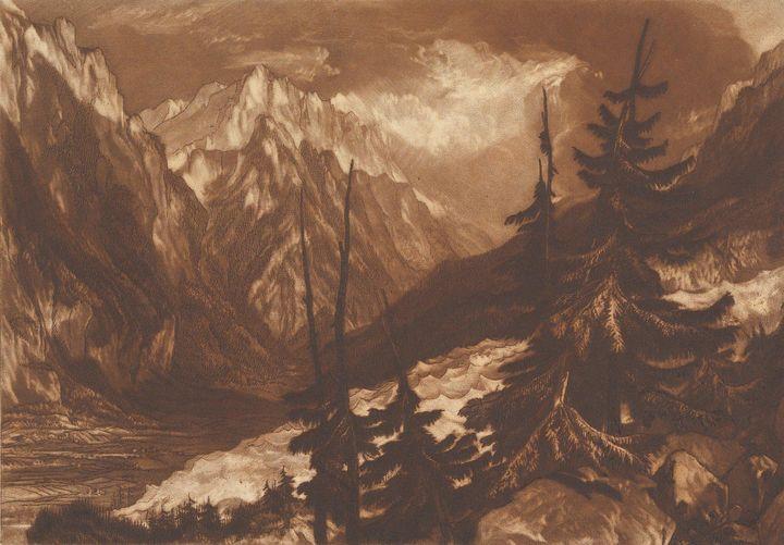 J. M. W. Turner, Henry Dawe~The Sour - Classical art