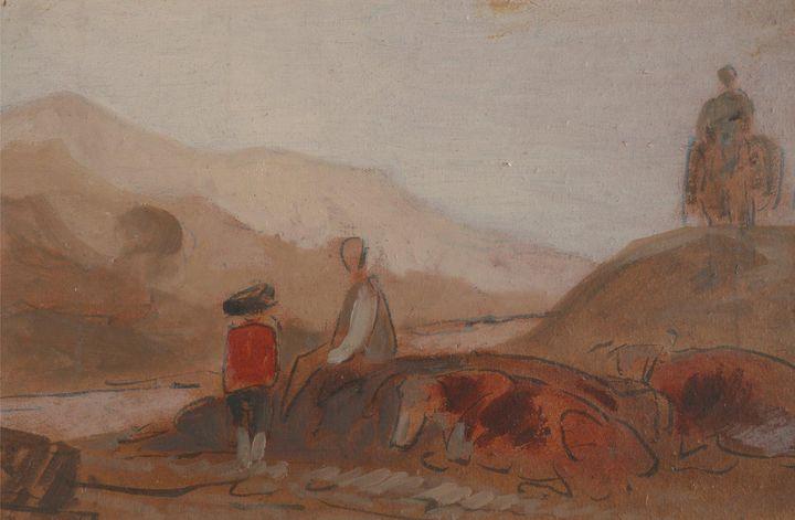 J. M. W. Turner, Peter De Wint~Mount - Classical art