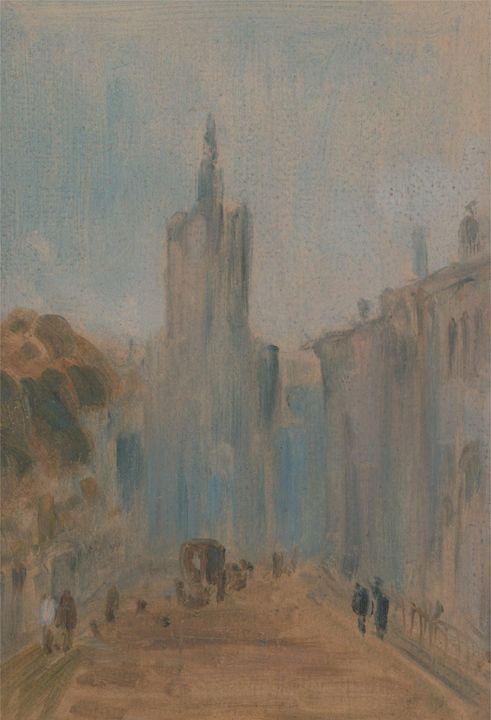 J. M. W. Turner, Peter De Wint~Stree - Classical art
