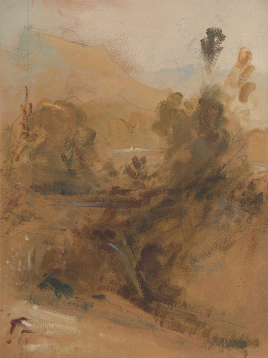 J. M. W. Turner, Peter De Wint~Uprig - Classical art