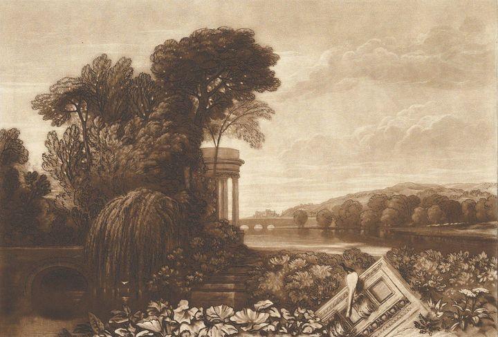 J. M. W. Turner, William Turner~Isis - Classical art
