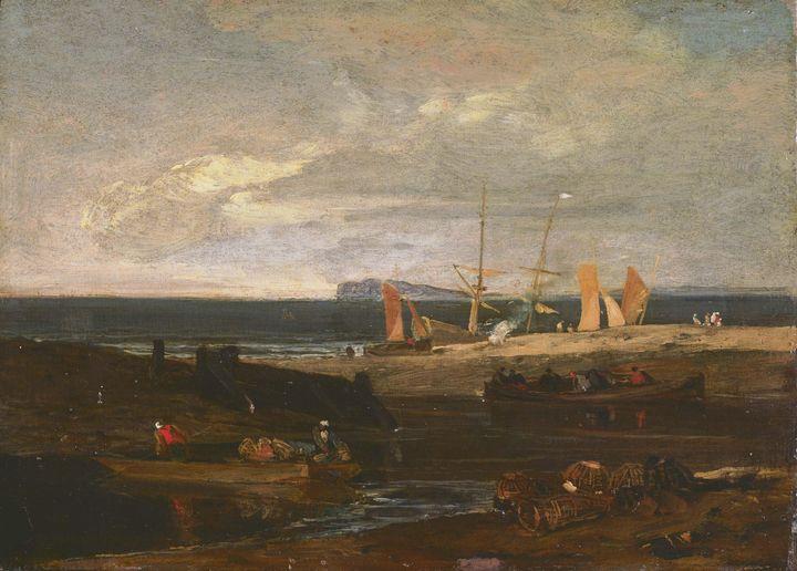 J. M. W. Turner~A Scene on the Engli - Classical art