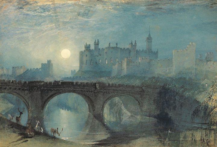J. M. W. Turner~Alnwick Castle - Classical art