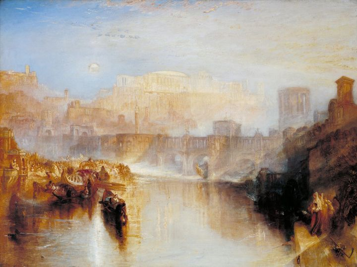 J. M. W. Turner~Ancient Rome; Agripp - Classical art