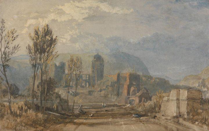 J. M. W. Turner~Andernach - Classical art