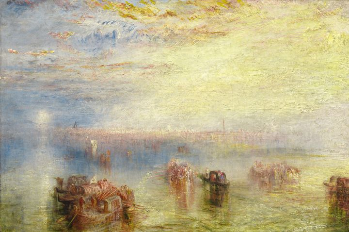 J. M. W. Turner~Approach to Venice - Classical art