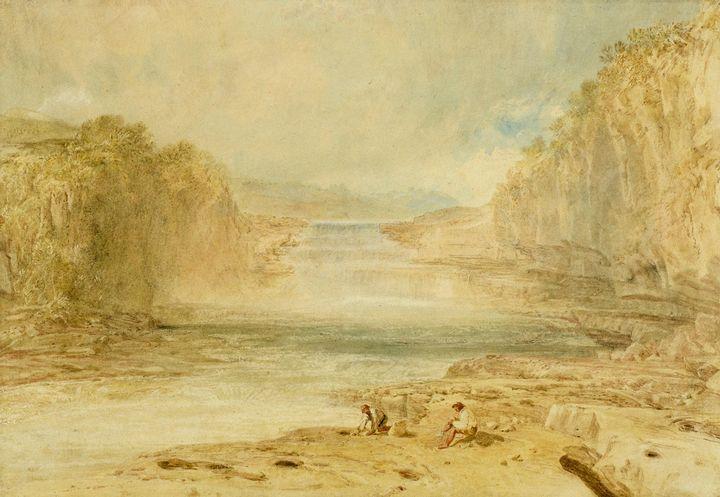 J. M. W. Turner~Aysgarth Force, Rich - Classical art