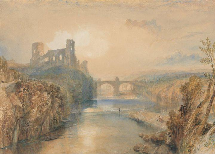 J. M. W. Turner~Barnard Castle - Classical art