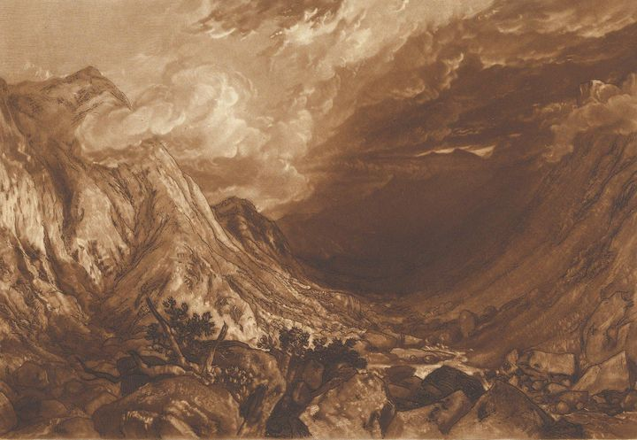 J. M. W. Turner~Ben Arthur, Scotland - Classical art