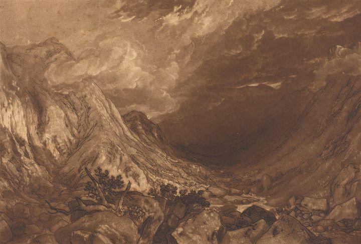 J. M. W. Turner~Ben Arthur - Classical art