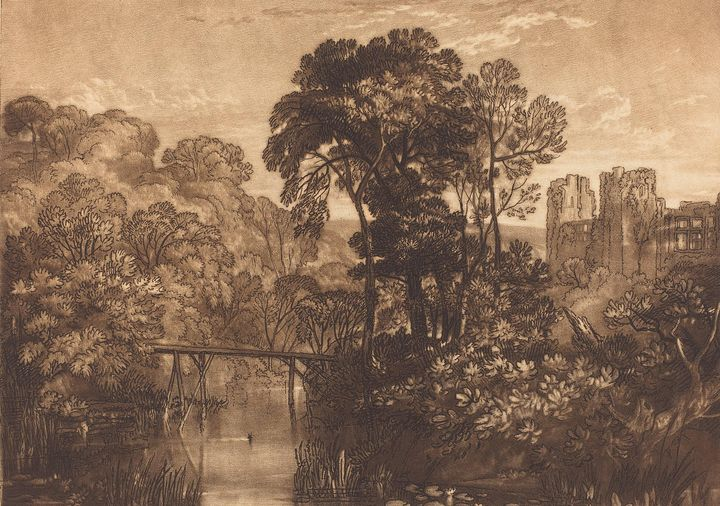 J. M. W. Turner~Berry Pomeroy Castle - Classical art