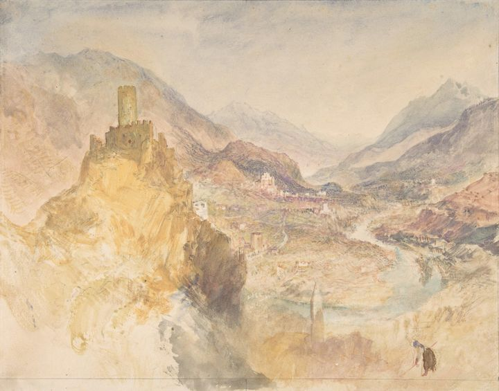 J. M. W. Turner~Chatel Argent and th - Classical art