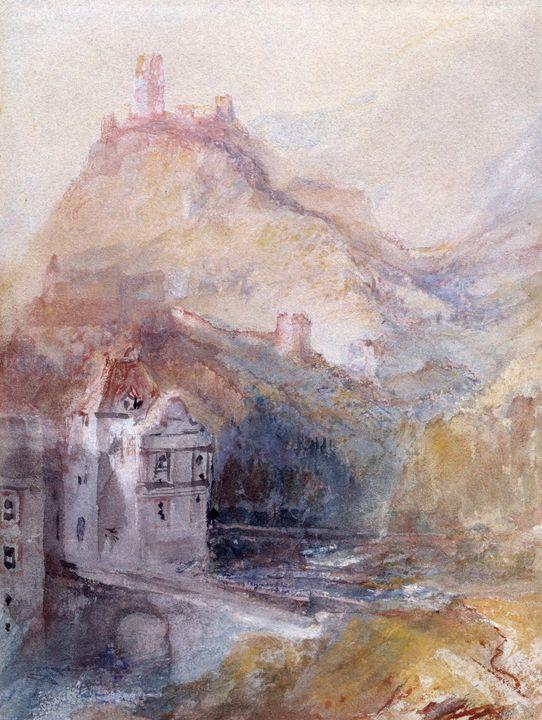 J. M. W. Turner~Cochem on the Mosel - Classical art