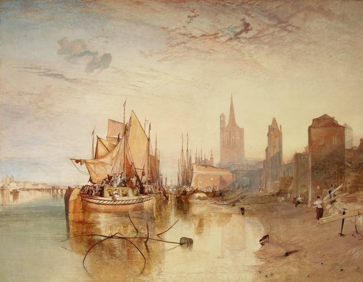J. M. W. Turner~Cologne, the Arrival - Classical art