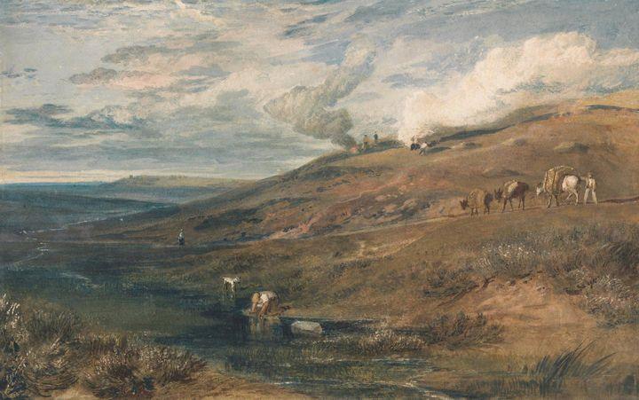 J. M. W. Turner~Dartmoor The Source - Classical art