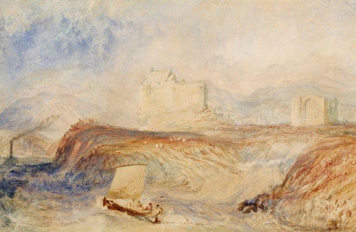 J. M. W. Turner~Dunstaffnage - Classical art