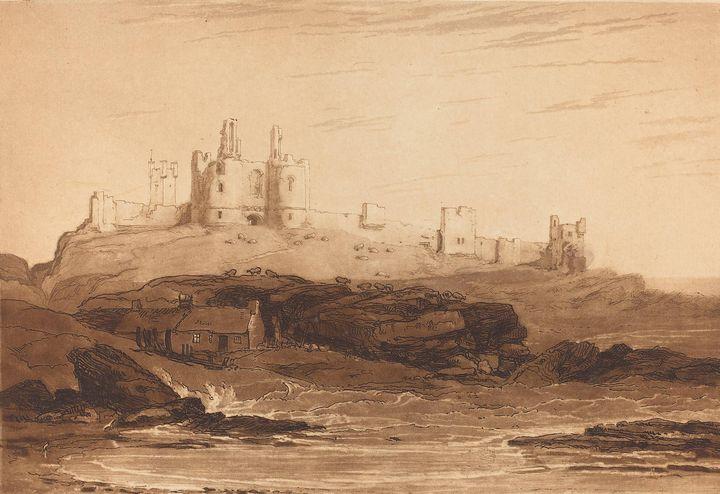 J. M. W. Turner~Dunstanborough Castl - Classical art