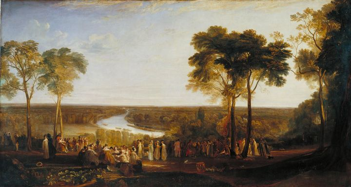 J. M. W. Turner~England Richmond Hil - Classical art
