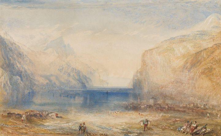 J. M. W. Turner~Fluelen Morning (loo - Classical art