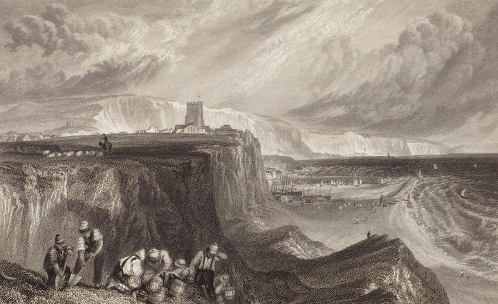 J. M. W. Turner~Folkstone, Kent - Classical art