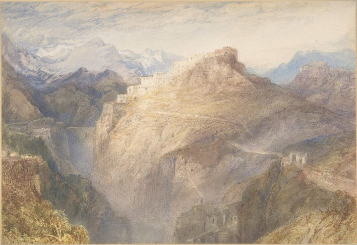 J. M. W. Turner~Fort of L'Essillon, - Classical art