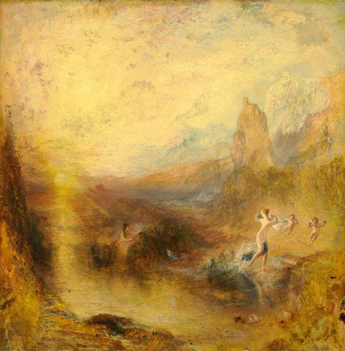 J. M. W. Turner~Glaucus and Scylla - Classical art