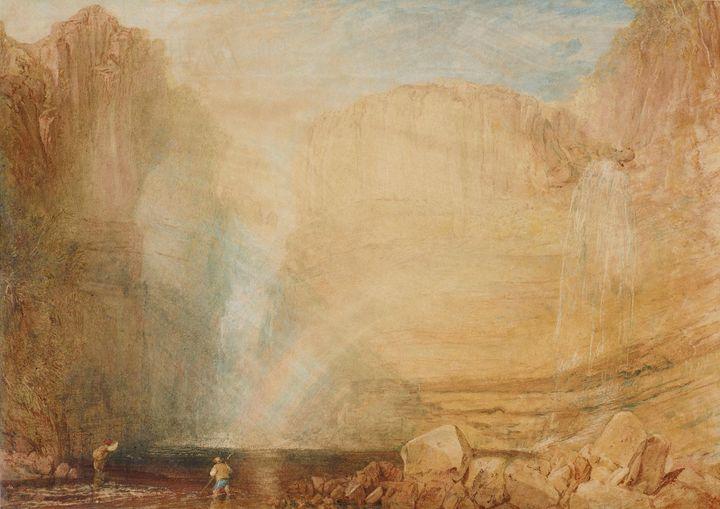 J. M. W. Turner~High force, Fall of - Classical art