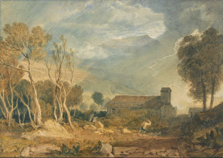 J. M. W. Turner~Ingleborough from Ch - Classical art