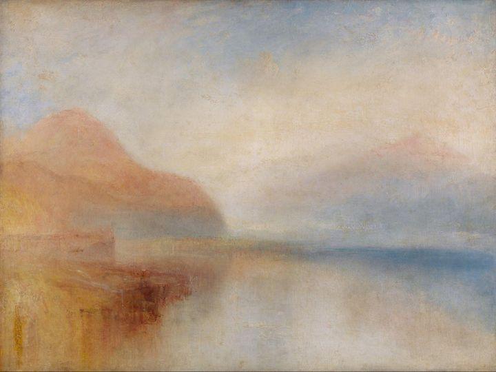 J. M. W. Turner~Inverary Pier, Loch - Classical art