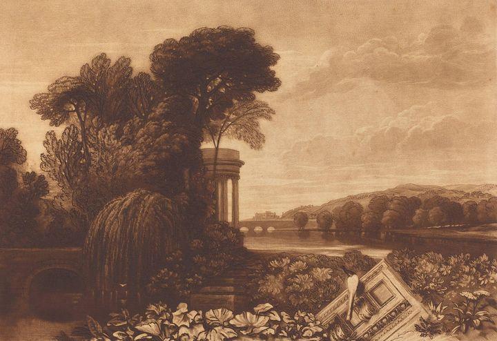 J. M. W. Turner~Isis - Classical art
