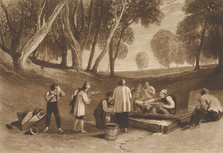 J. M. W. Turner~Juvenile Tricks (Lib - Classical art