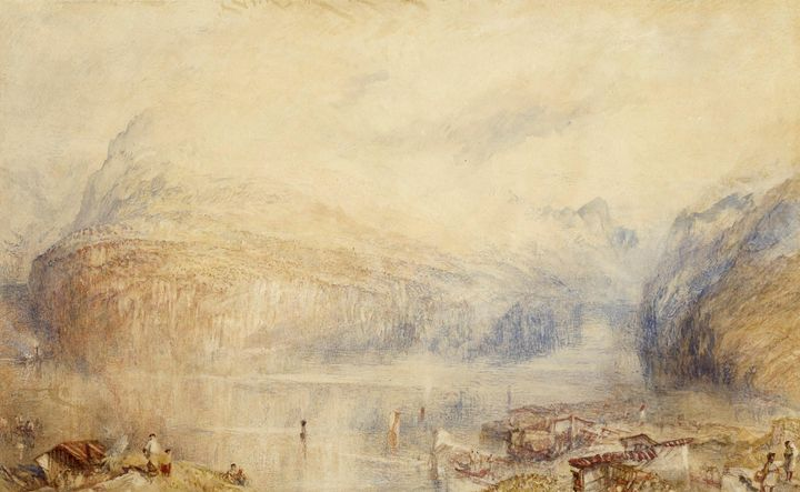 J. M. W. Turner~Lake of Lucerne from - Classical art