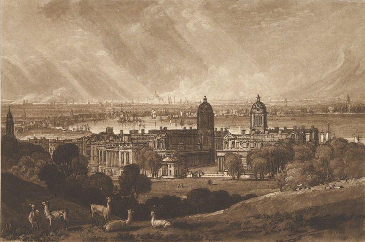 J. M. W. Turner~London from Greenwic - Classical art