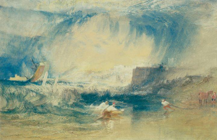 J. M. W. Turner~Lyme Regis, Dorsetsh - Classical art