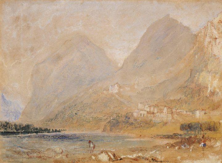 J. M. W. Turner~Martinswand, near In - Classical art