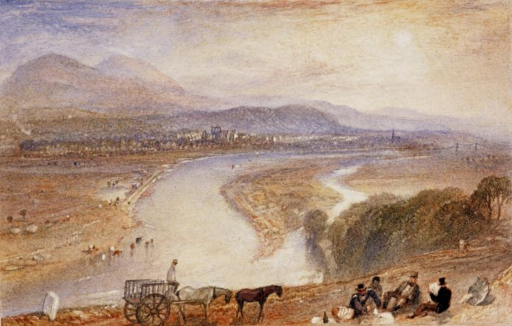 J. M. W. Turner~Melrose - Classical art