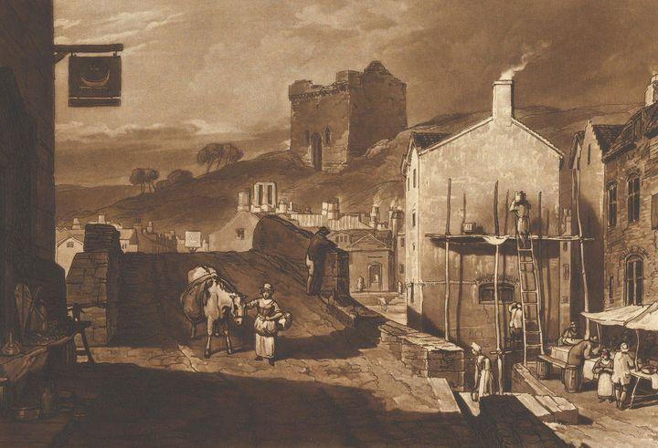 J. M. W. Turner~Morpeth North (Liber - Classical art