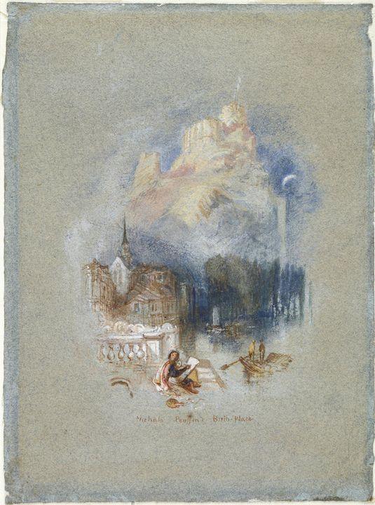 J. M. W. Turner~Nicholas Poussin's B - Classical art