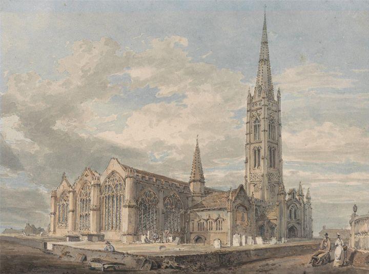 J. M. W. Turner~North East View of G - Classical art