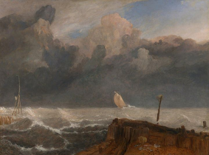 J. M. W. Turner~Port Ruysdael - Classical art