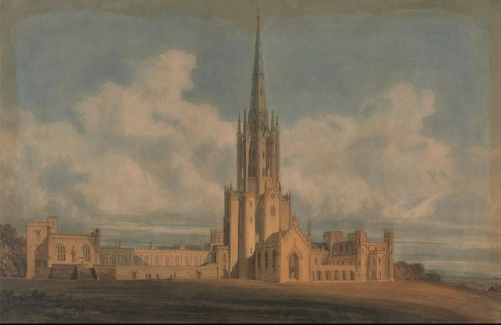 J. M. W. Turner~Projected Design for - Classical art